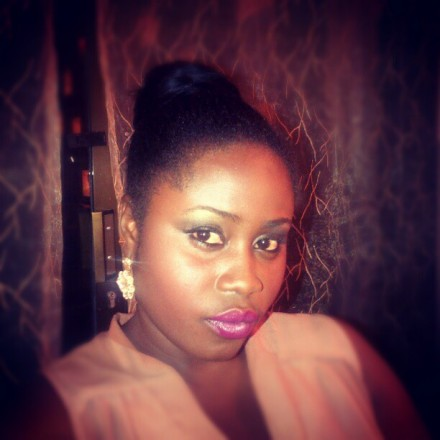 Lydia Forson first day on Scandal production set