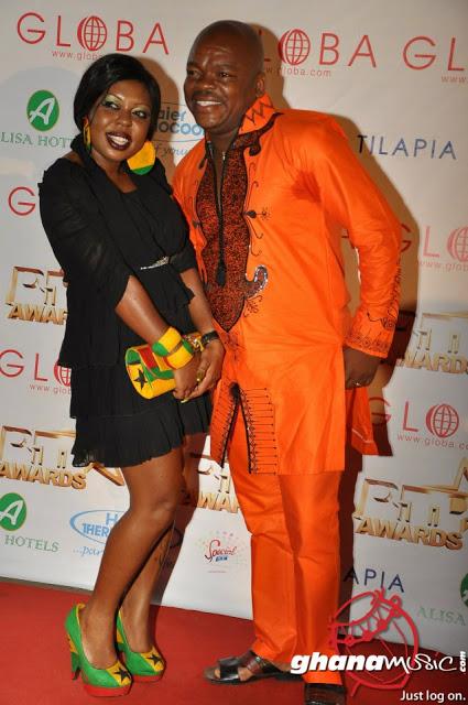 Afia Schwarzenegger�s [fabulous] Ghana flag shoes�