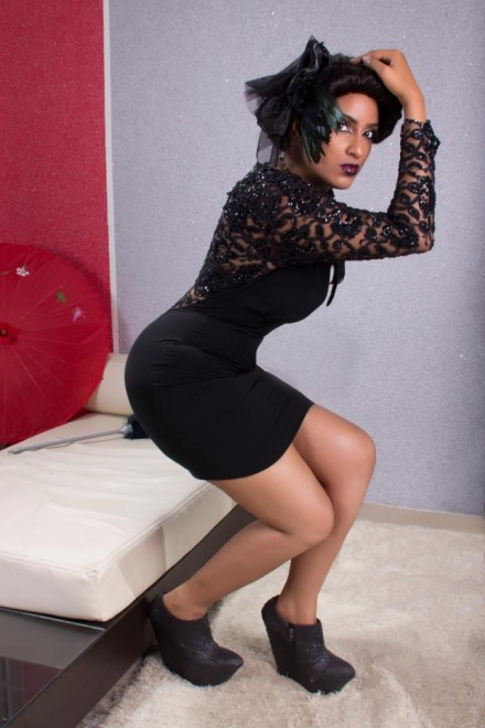 Juliet Ibrahim Goes For BLACK