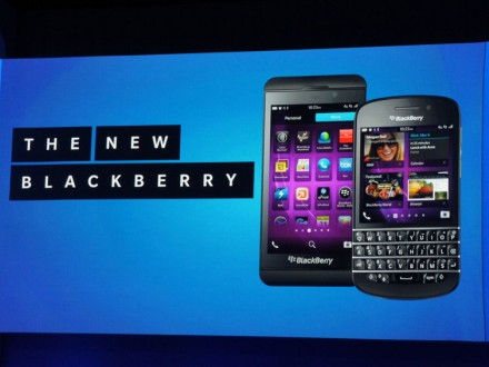 BlackBerry Z10 and Q10 smartphones make big debut