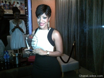 It�s a double for Joselyn Dumas � as she wins two awards in Nigeria!