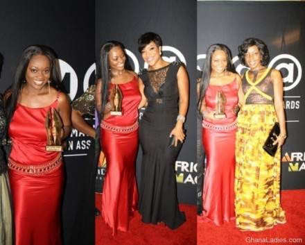 Jackie Appiah Wins Best Actress at AMVCAs!
