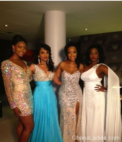 Anita Erskine, Joselyn Dumas, Michelle Attoh, Dzigbordi Dooso, others in �Diamonds from Africa� campaign