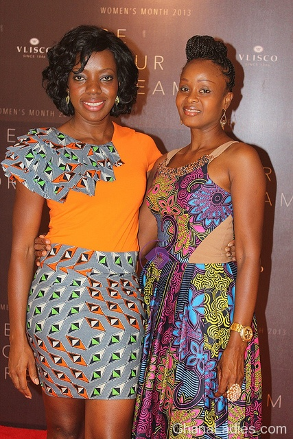 Nominees for Vlisco Women�s Month BE YOUR DREAM award outdoored in style