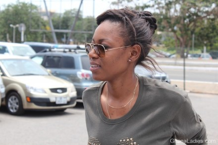 Yvonne Nelson�s Press Interaction @ Kotoka Airport