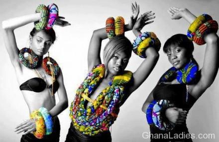Funkadelic Afro-print Jewellery