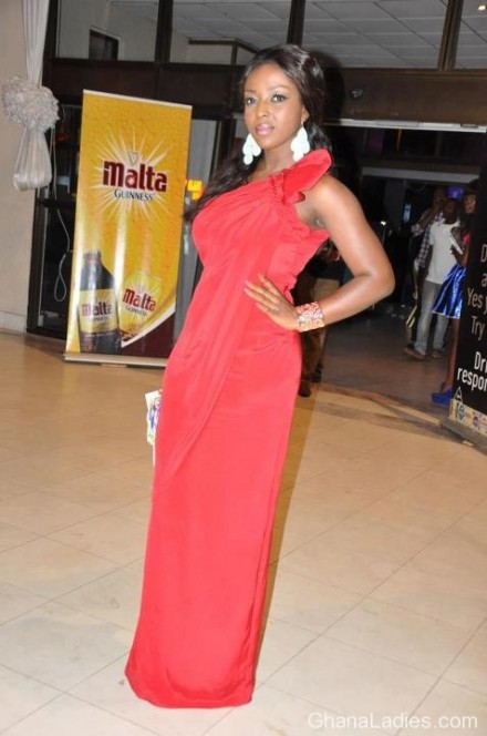 Ravishing Red Miss. Okoro
