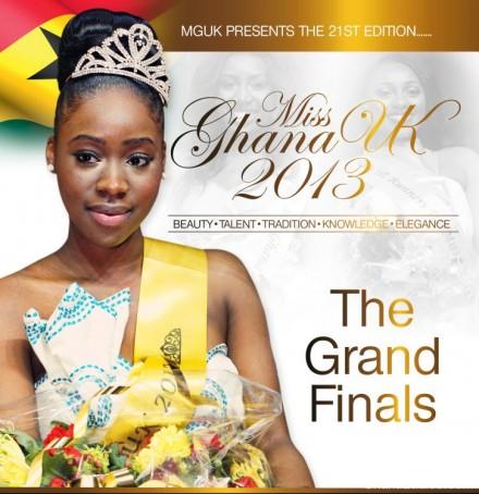 Miss Ghana UK 2013 – Grand Finals