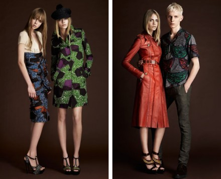 Burberry goes African Print