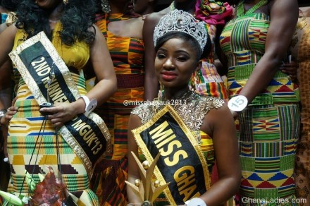 Crowning of Miss GhanaUK 2013 photos