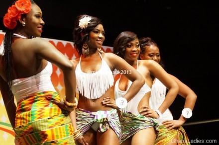 MISS GHANA UK 2013 � SWIM WEAR PHOTOS
