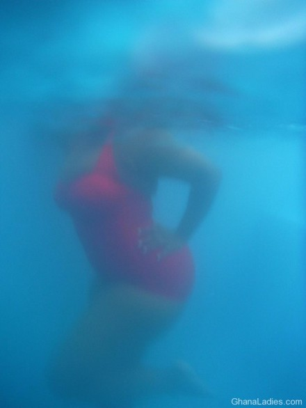 Lydia Forson Shares Underwater Photos