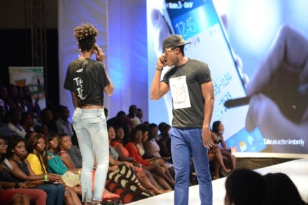Samsung Goes Glam at #GAFW2013