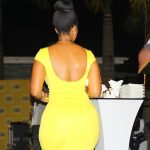 Photos – Joselyn Dumas Packs Her Goodies In A Yellow Outfit