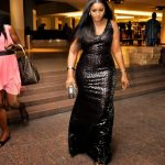 Omotola Turns Heads In All Black (Photos)