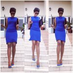 Checkout Yvonne Nelson's Outfit To Church