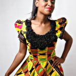 Kente on different bodies with different styles.