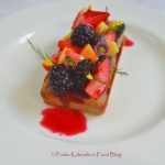 Food for Love: Sorrel Cake, Mixed Fruits& Sorrel syrup