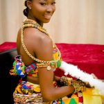 Ghanaian lady flaunts luscious culture
