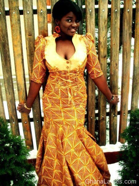 ghanaian dress