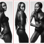 Stunning model Destiny Owusu sizzzles in lingerie shoot