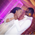 First Photos from Kofi Okyere Darko (KOD) and Ophelia Crossland's white wedding