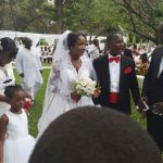 Exclusive: First photos from Naa Ashorkor's white wedding