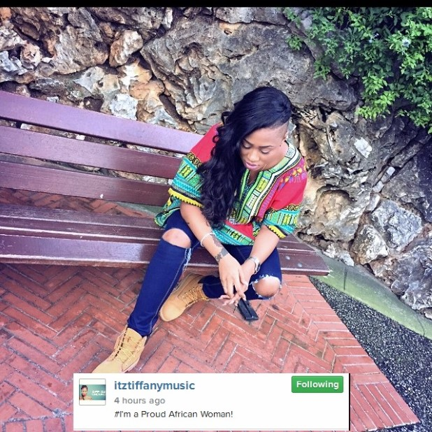 Photos Itz Tiffany Says She Is A Proud African Woman - Ghana Ladies
