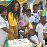 Jackie Appiah Celebrates Birthday With Less Privileged