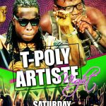 EVENT THIS WEEKEND: EDEM & STONEBWOY ROCK T-POLY ARTIST NIGHT – (DETAILS)