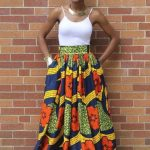 Join the fever of multi-coloured and stylish African print clothes